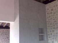 Fireplace renovation (Concrete Collection)