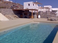 Swimming pool, Μykonos island, Greece (Strizo Collection)